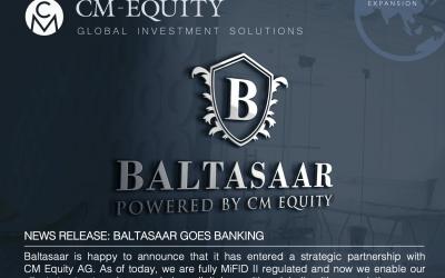 Baltasaar and CM-Equity AG establish strategic partnership