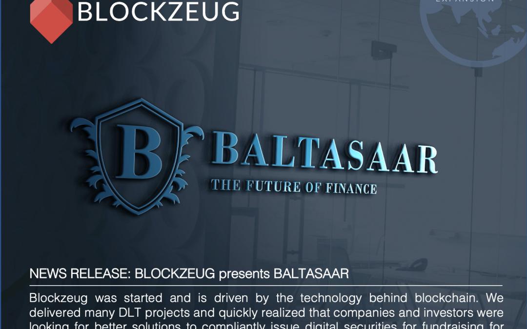 Blockzeug presents: Baltasaar |Funding-as-a-Service