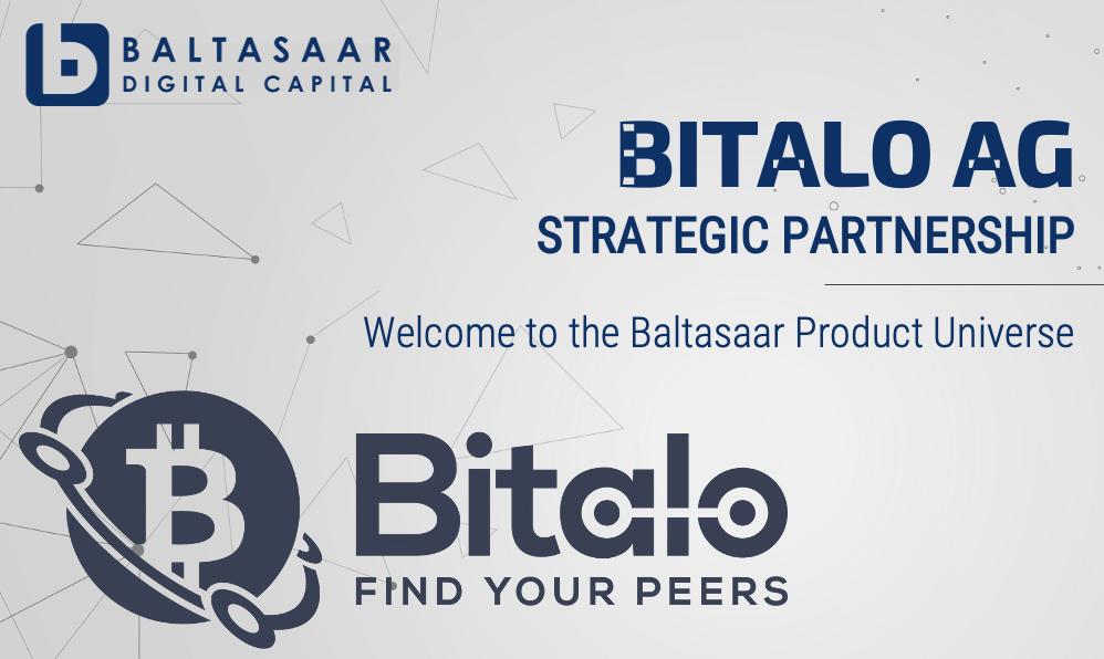 NEWS: Baltsaaar & Bitalo AG Enter Strategic Partnership